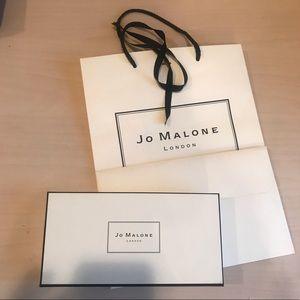 Jo Malone gift bag and gift box